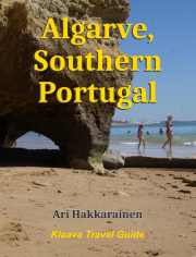 travel guidebook cover image: Algarve, Portugal