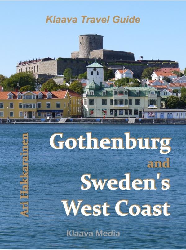 Göteborg ja Ruotsin länsirannikko matkaopas, kansikuva
