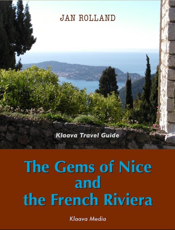 opas Ranskan Rivieran ja Nizzan matkalle, kirjan kansikuva
