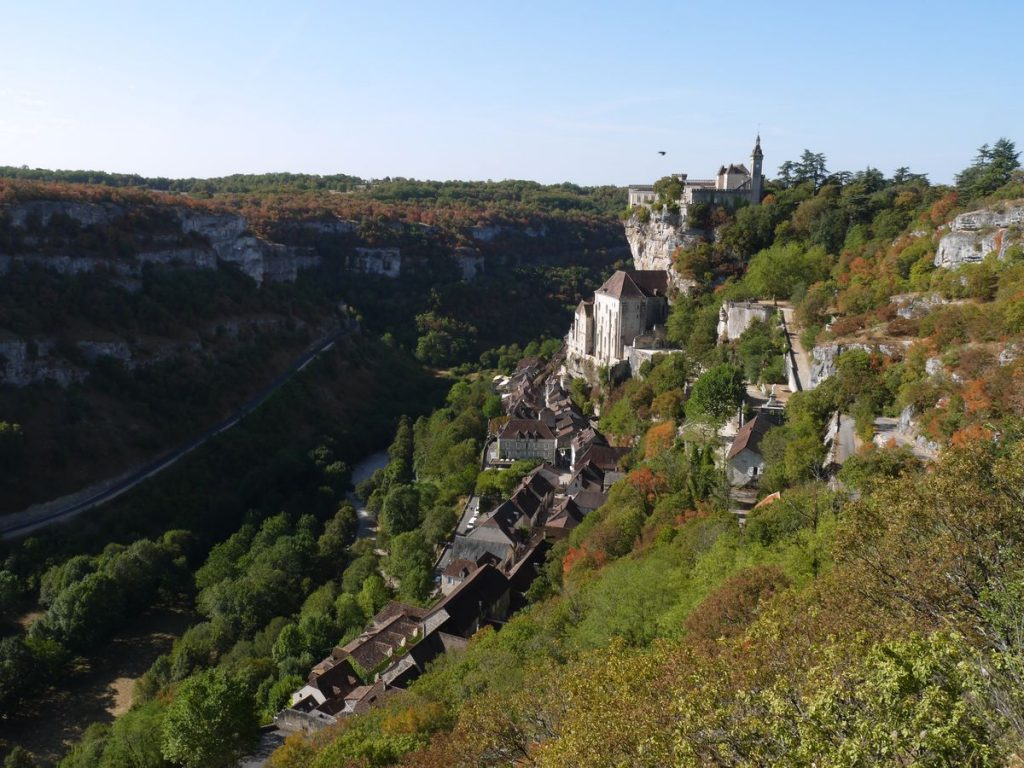 Rocamadour village in France