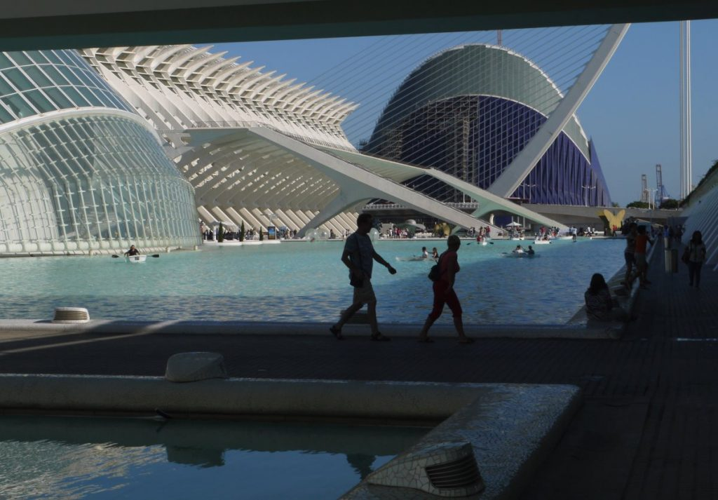 city of arts and sciences, Valencia, Espanja