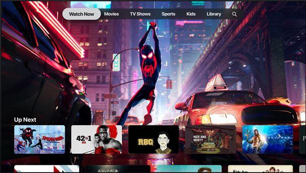 apple tv+ elokuvat ja televisio-ohjelmat