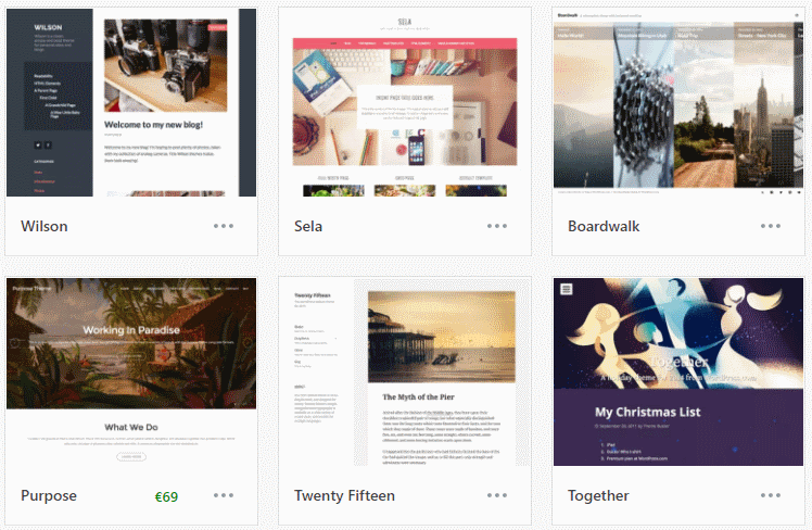 Wordpress, teema