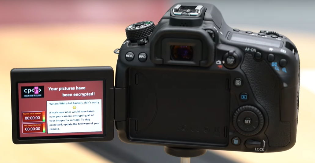 canon camera hack by Checkpoint