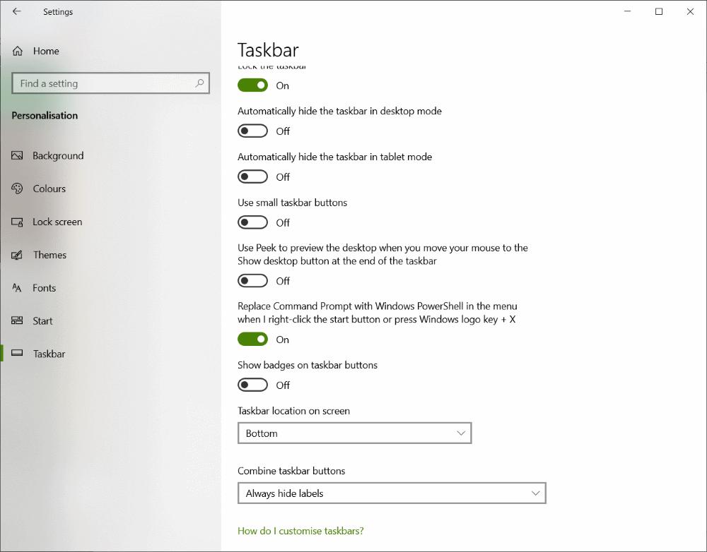 windows 10 tehtävälista