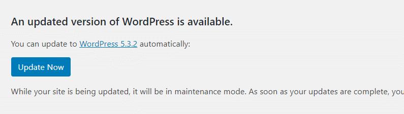wordpress automaattinen päivitys