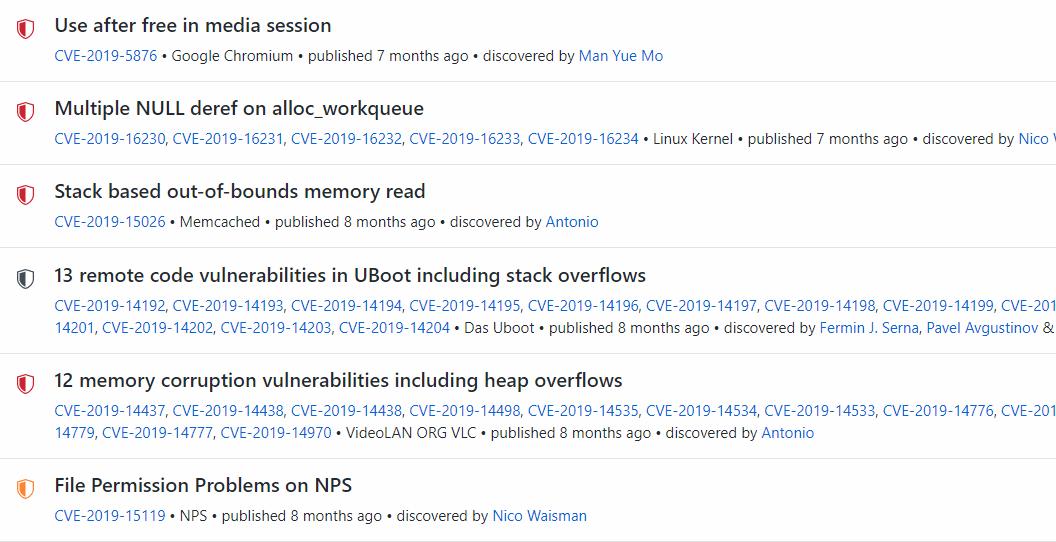 github: löydettyjä tietoturva-aukkoja ohjelmista