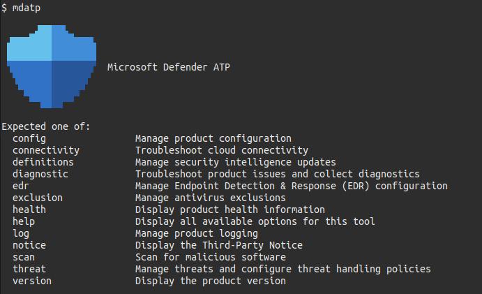 microsoft defender linux-käyttöjärjestelmälle