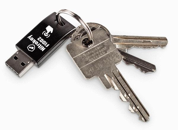 nitrokey usb-tikku: kirjautuminen ilman salasanaa