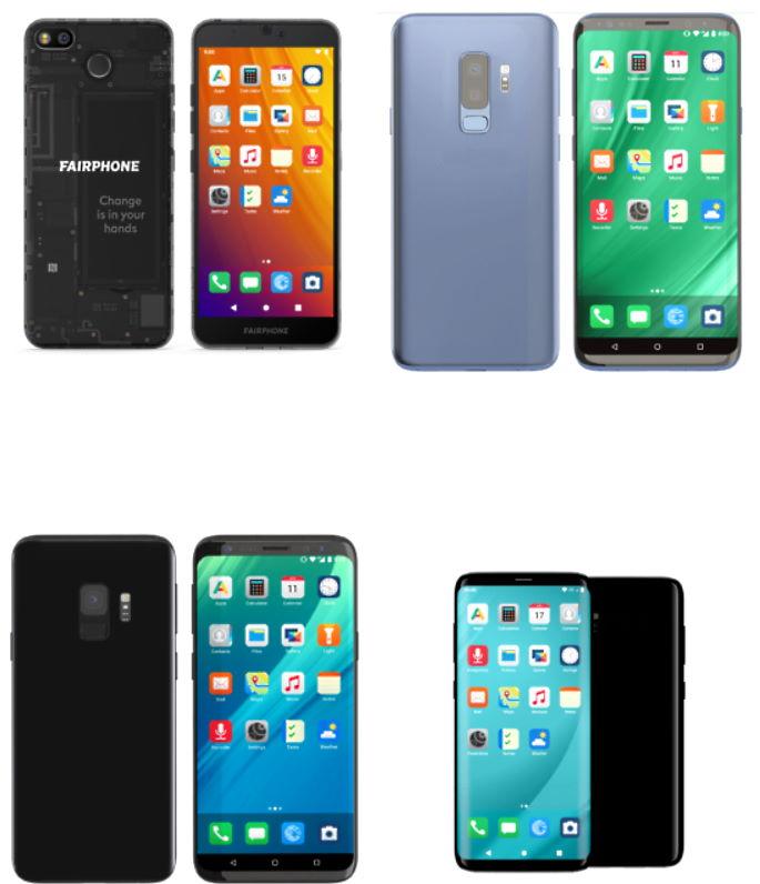 /e/OS puhelimia
