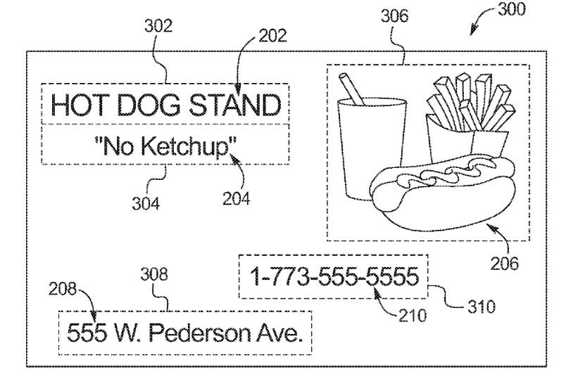 ford-yhtiön patenttihakemuksen kaavio