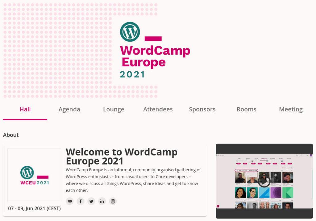 wordcamp 2021 kotisivu